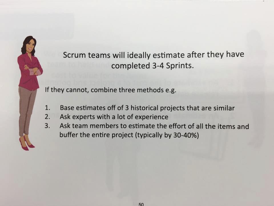 scrum estimation