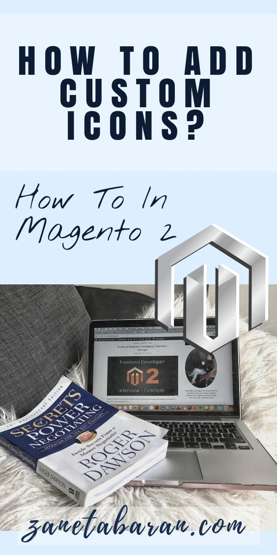 Pinterest How To Add Custom Icons Magento