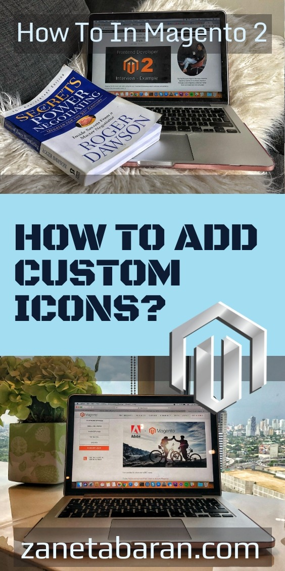 Pinterest Magento HOW TO ADD CUSTOM ICONS?