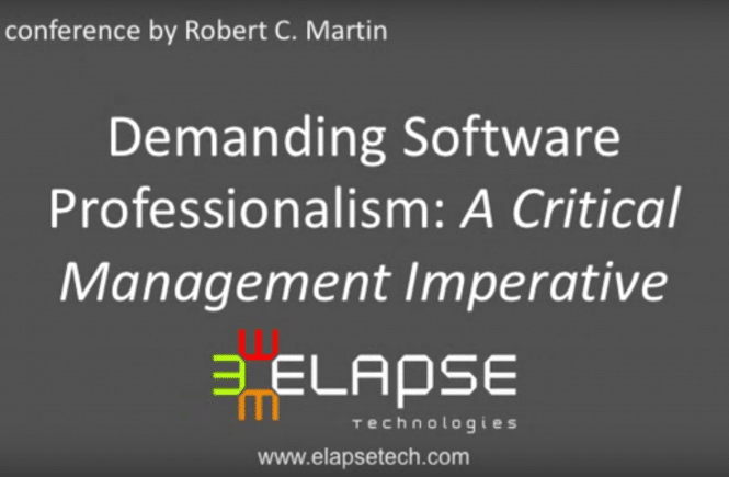 Robert C. Martin (Uncle Bob) - Demanding Professionalism in Software Development
