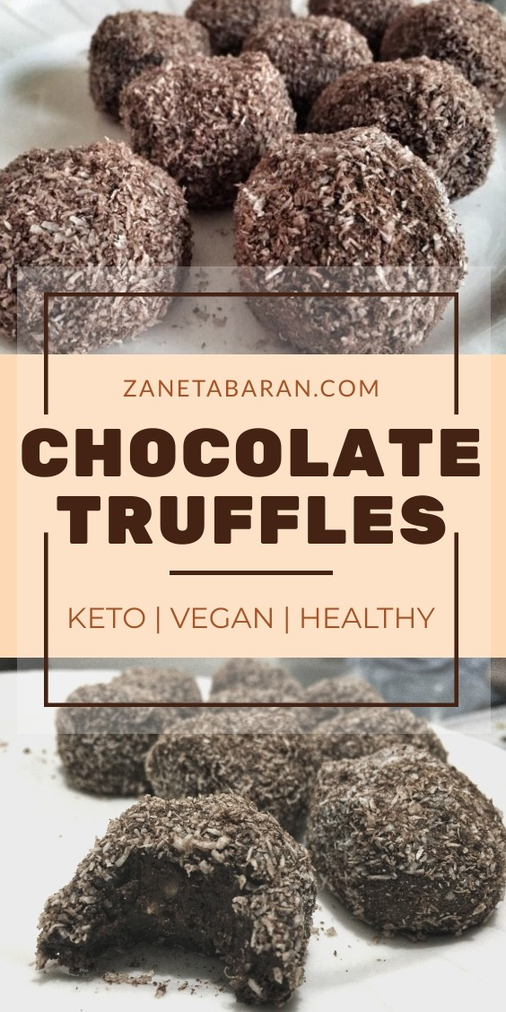 Chocolate Truffles Keto Healthy Vegan