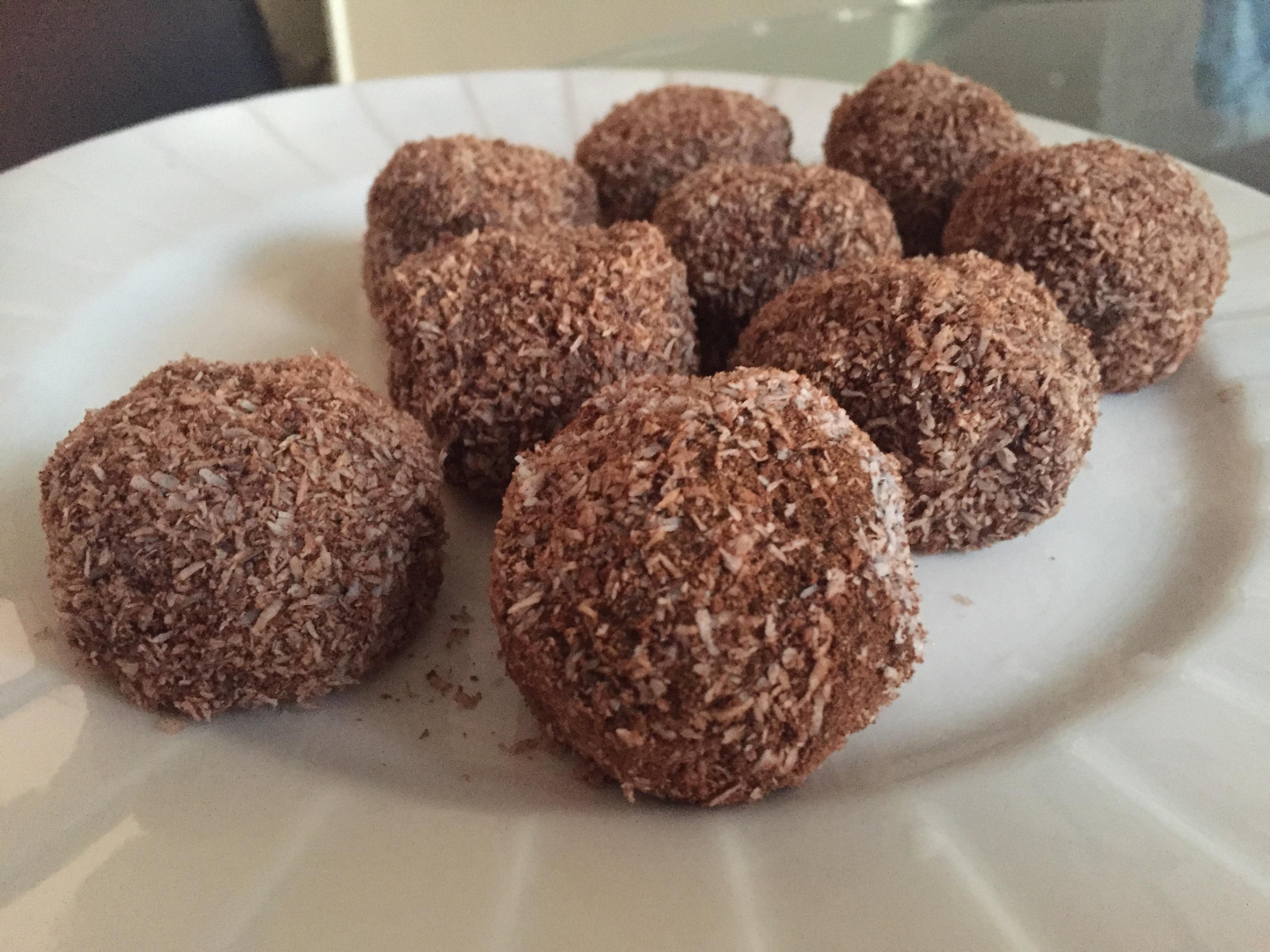 Keto Vegan Healthy Chocolate Truffles