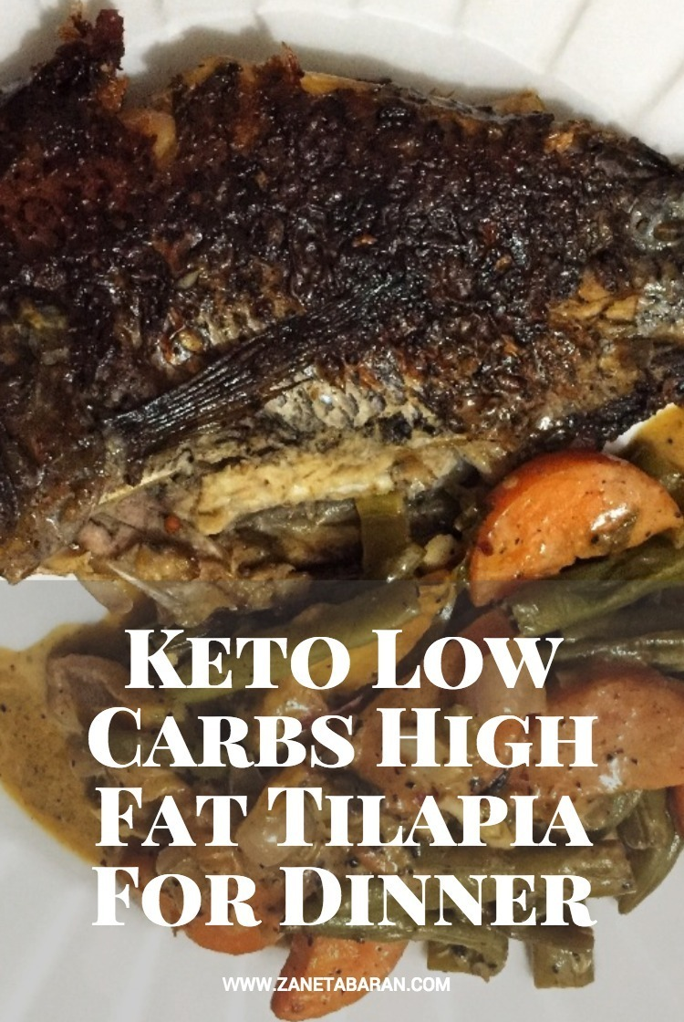 Pinterest Keto Low Carbs High Fat Tilapia For Dinner