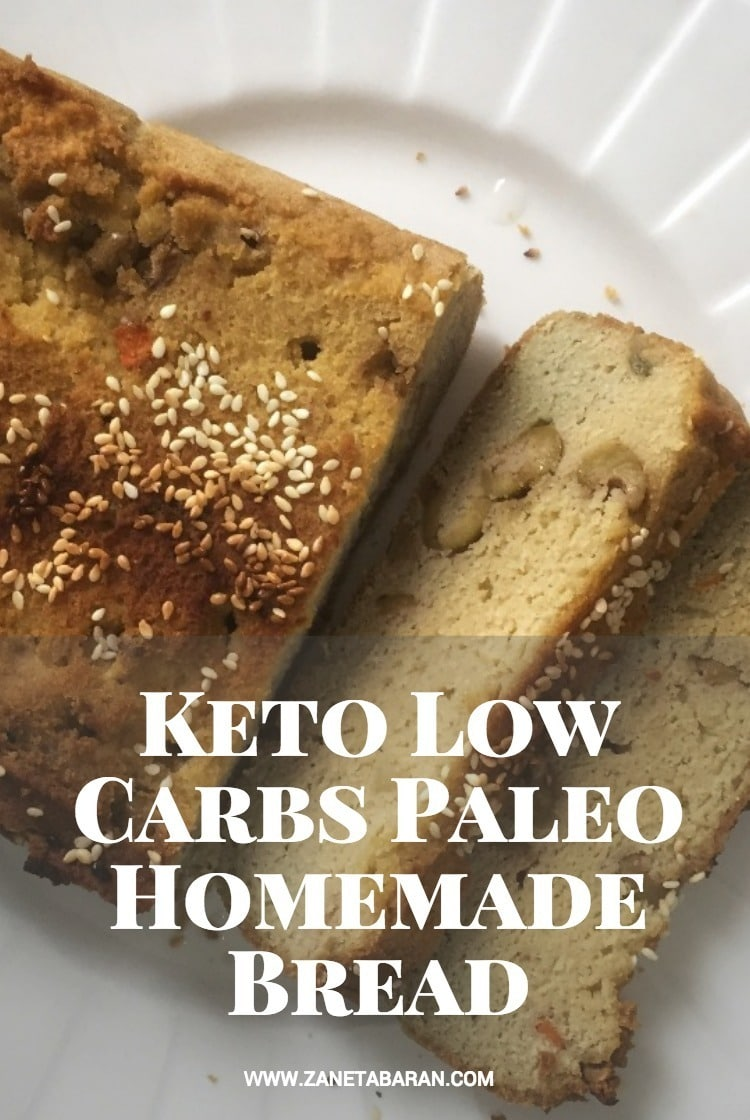 Pinterest Keto Low Carbs Paleo Homemade Bread