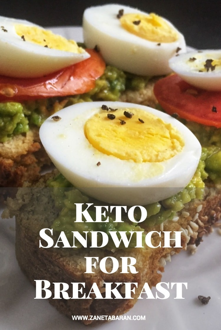Pinterest Keto Sandwich for Breakfast