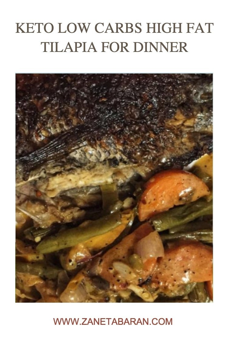 Pinterest 1 Keto Low Carbs High Fat Tilapia For Dinner