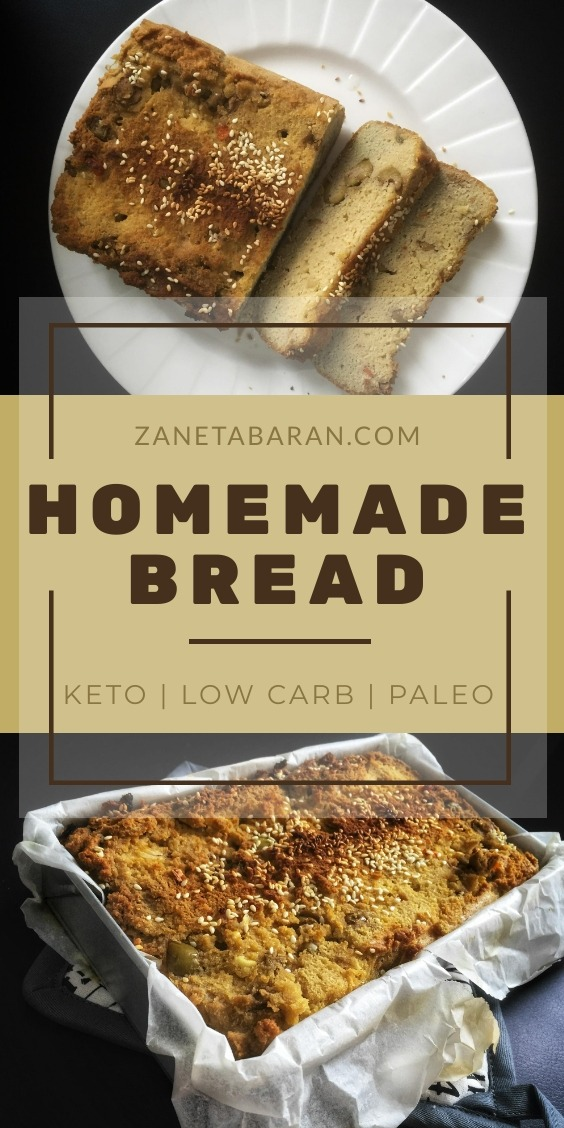 Keto Homemade Bread