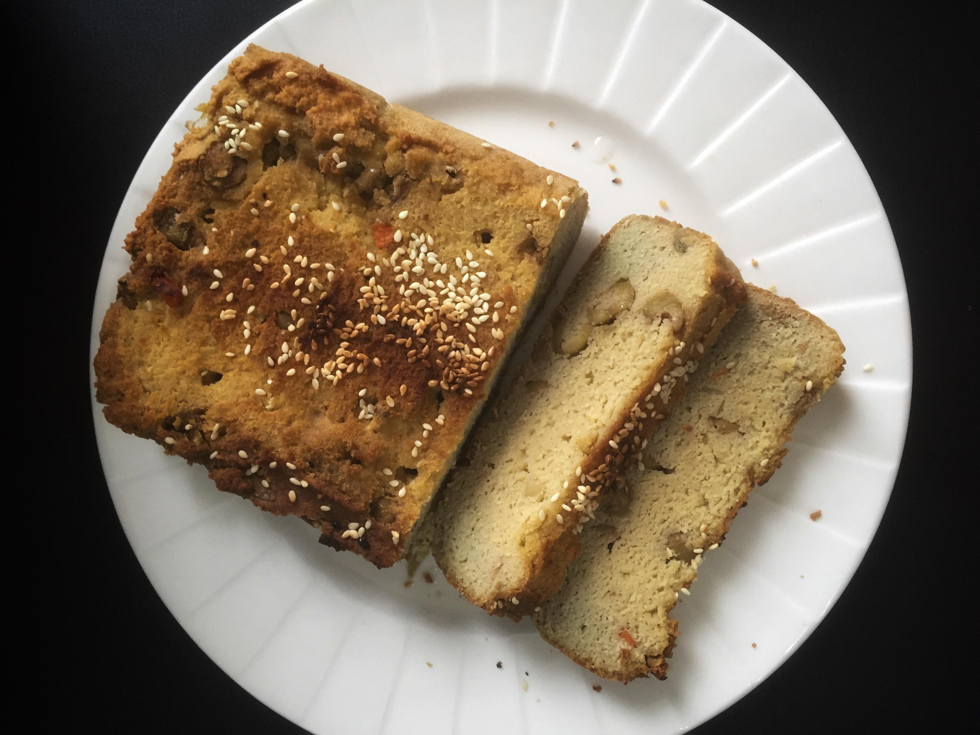 Keto Low Carbs Paleo Homemade Bread