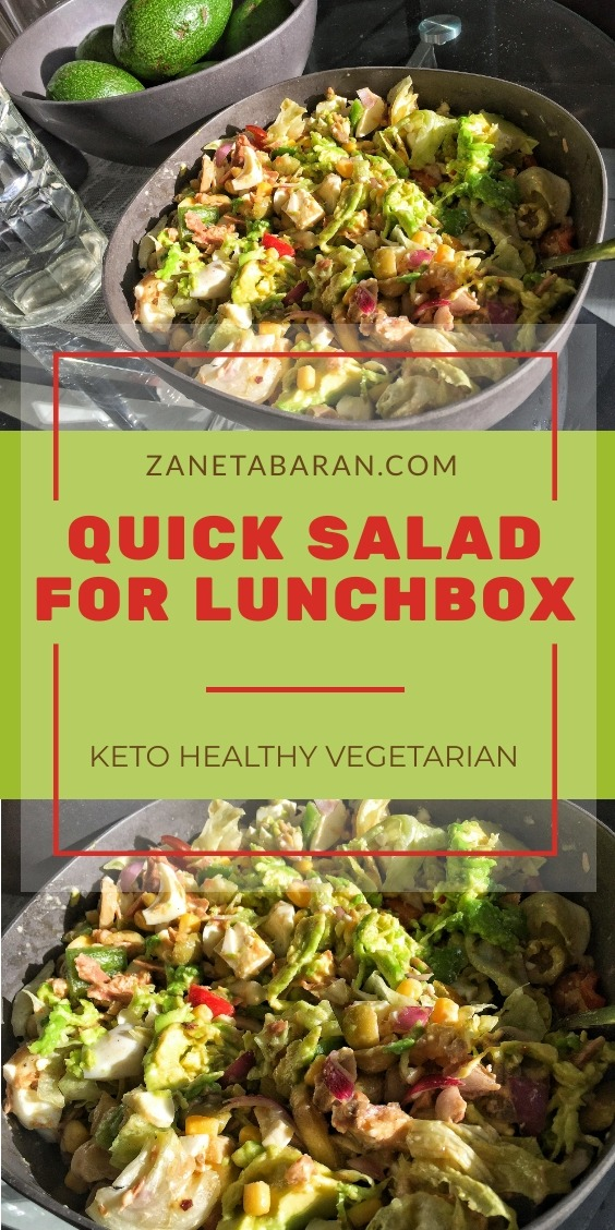 Quick Salad Lunchbox