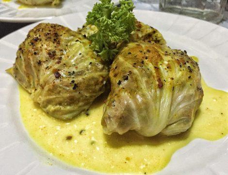 "Ground Beef Cabbage Rolls For Keto Lunch Based On Polish ""Gołąbki"""