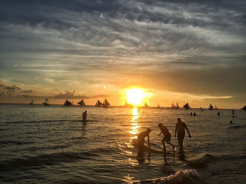 Boracay Sunset White Beach