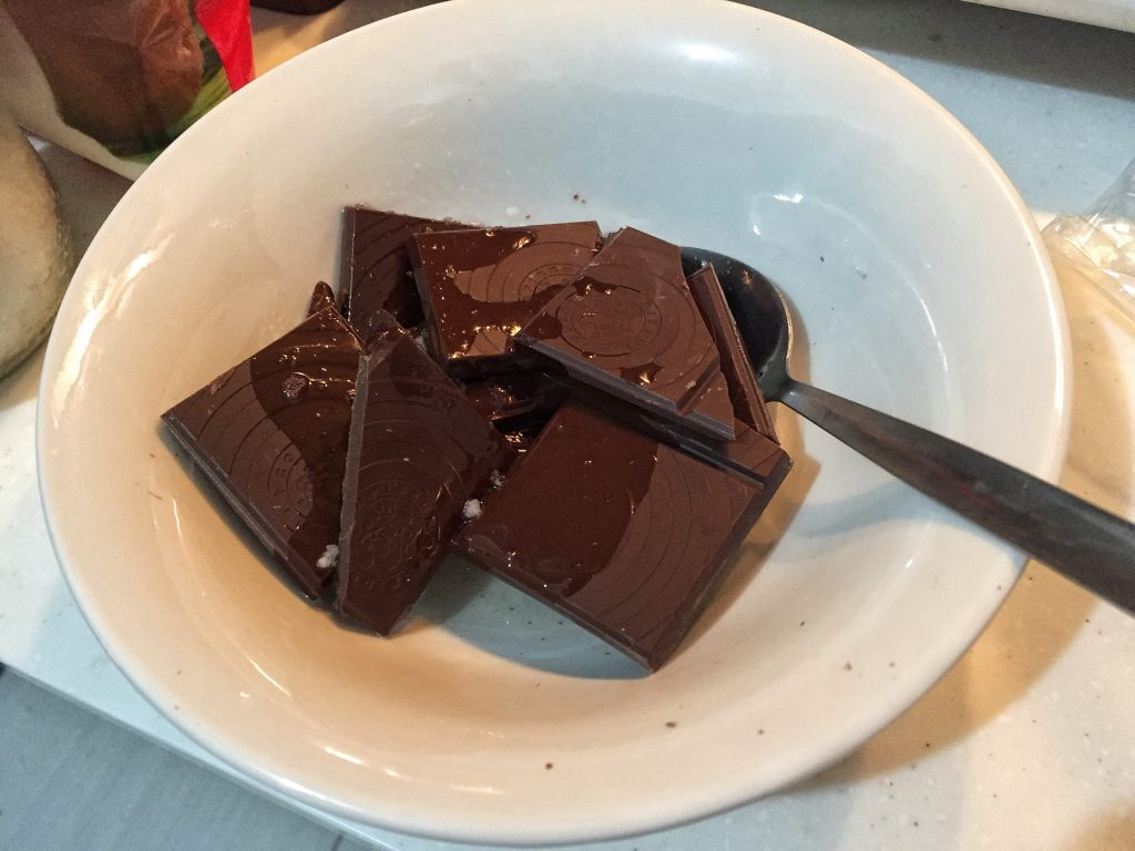 Brownie Chocolate Melted