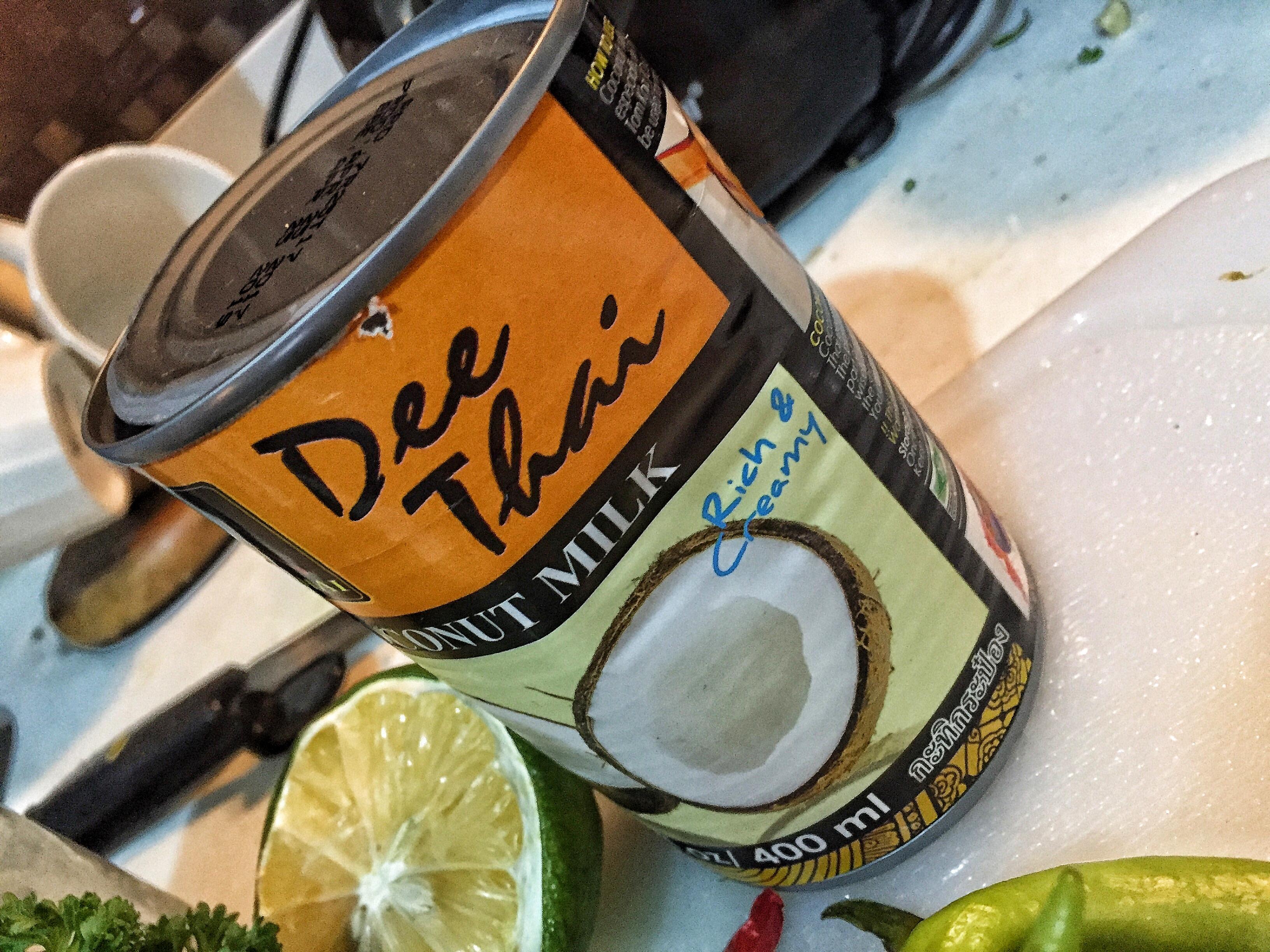 Coconut Milk Sauce