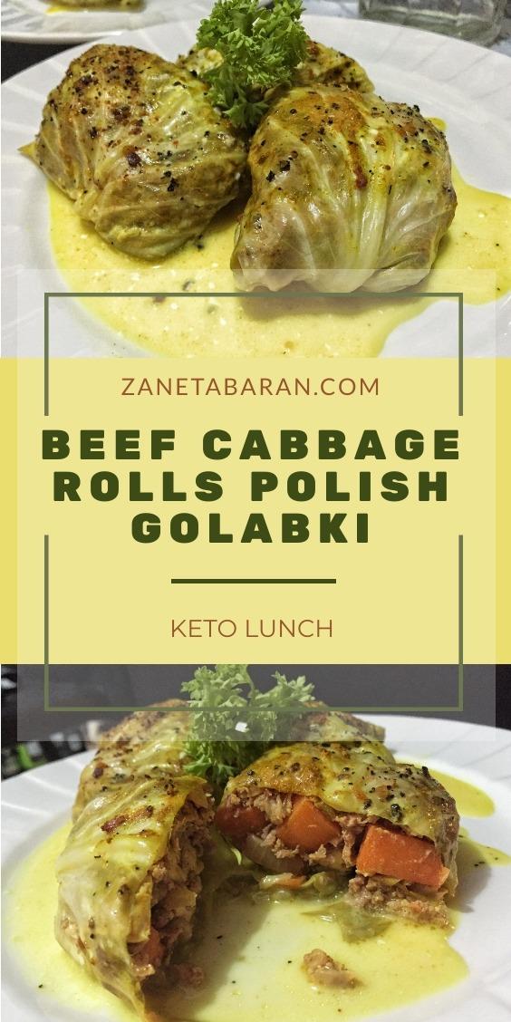 Golabki Beef Rolls