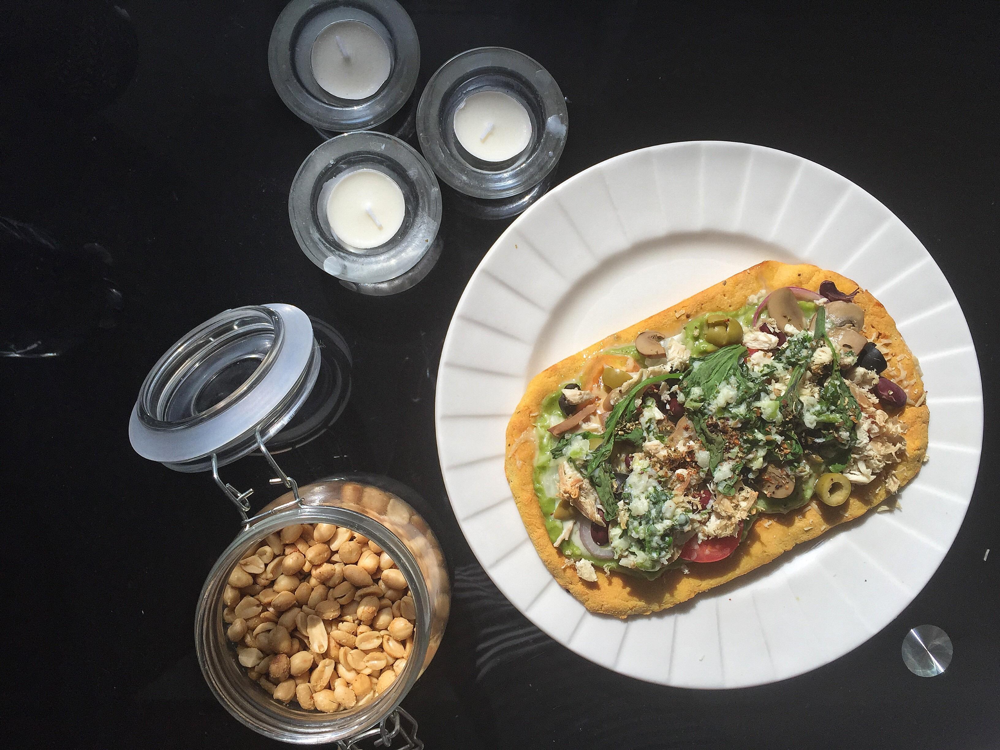 Healthy Keto Vegetarian Pizza