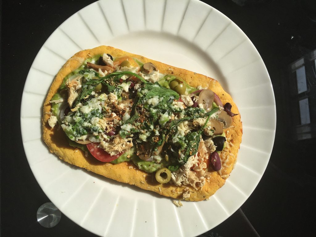 Keto Healthy Pizza Chicken