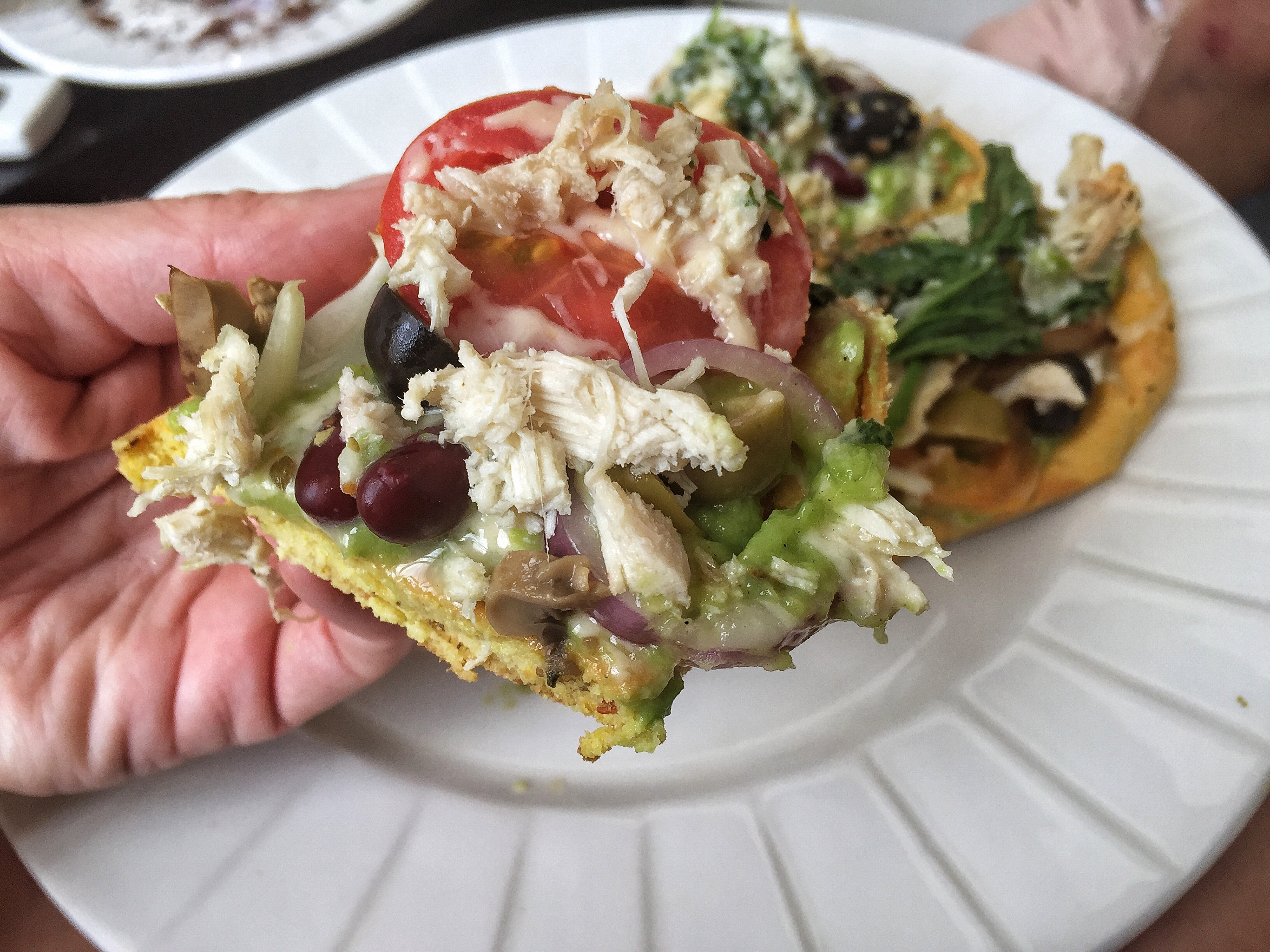 Keto Healthy Pizza Lunch