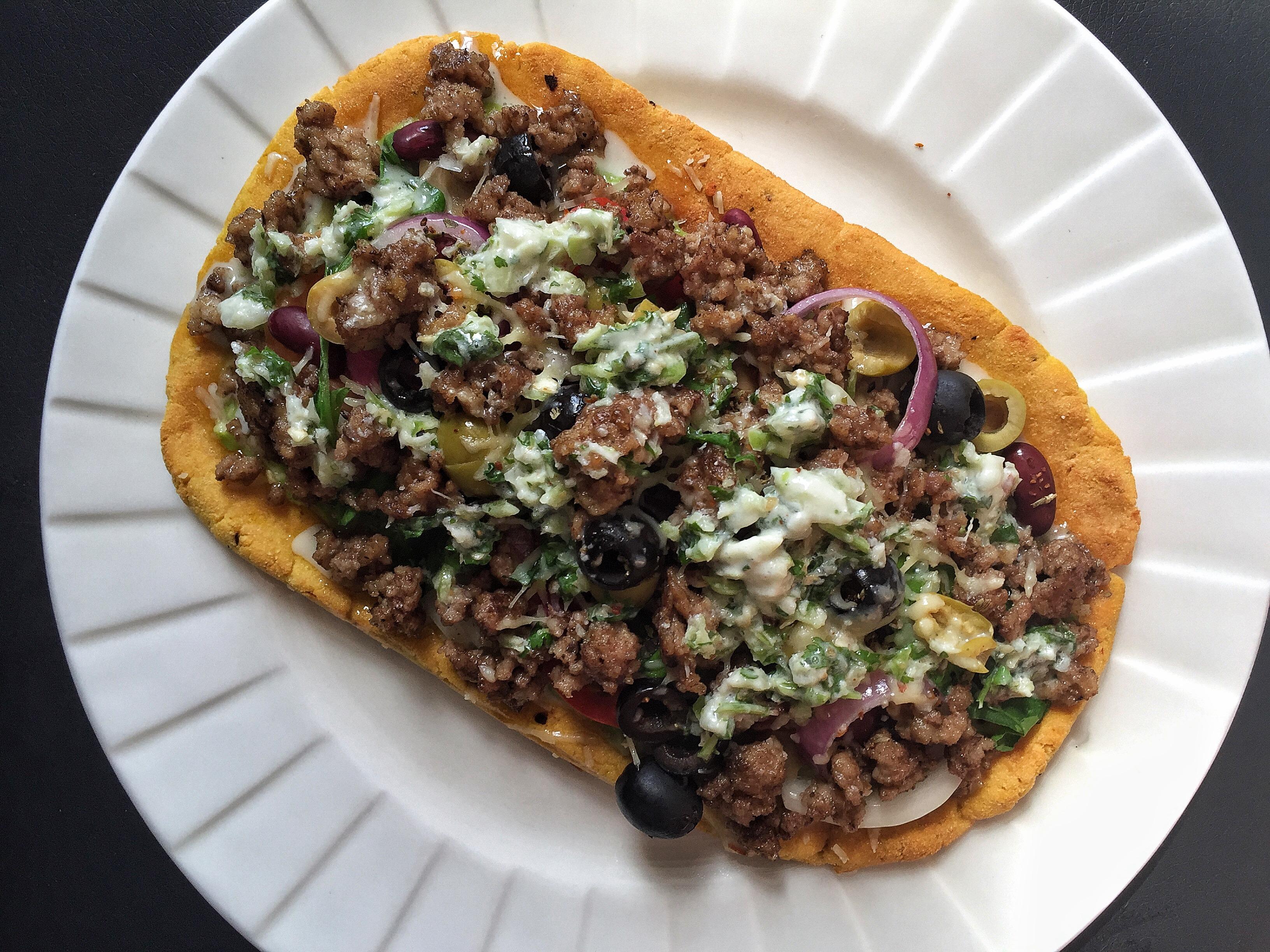 Keto Pizza Beef NoVegetarian