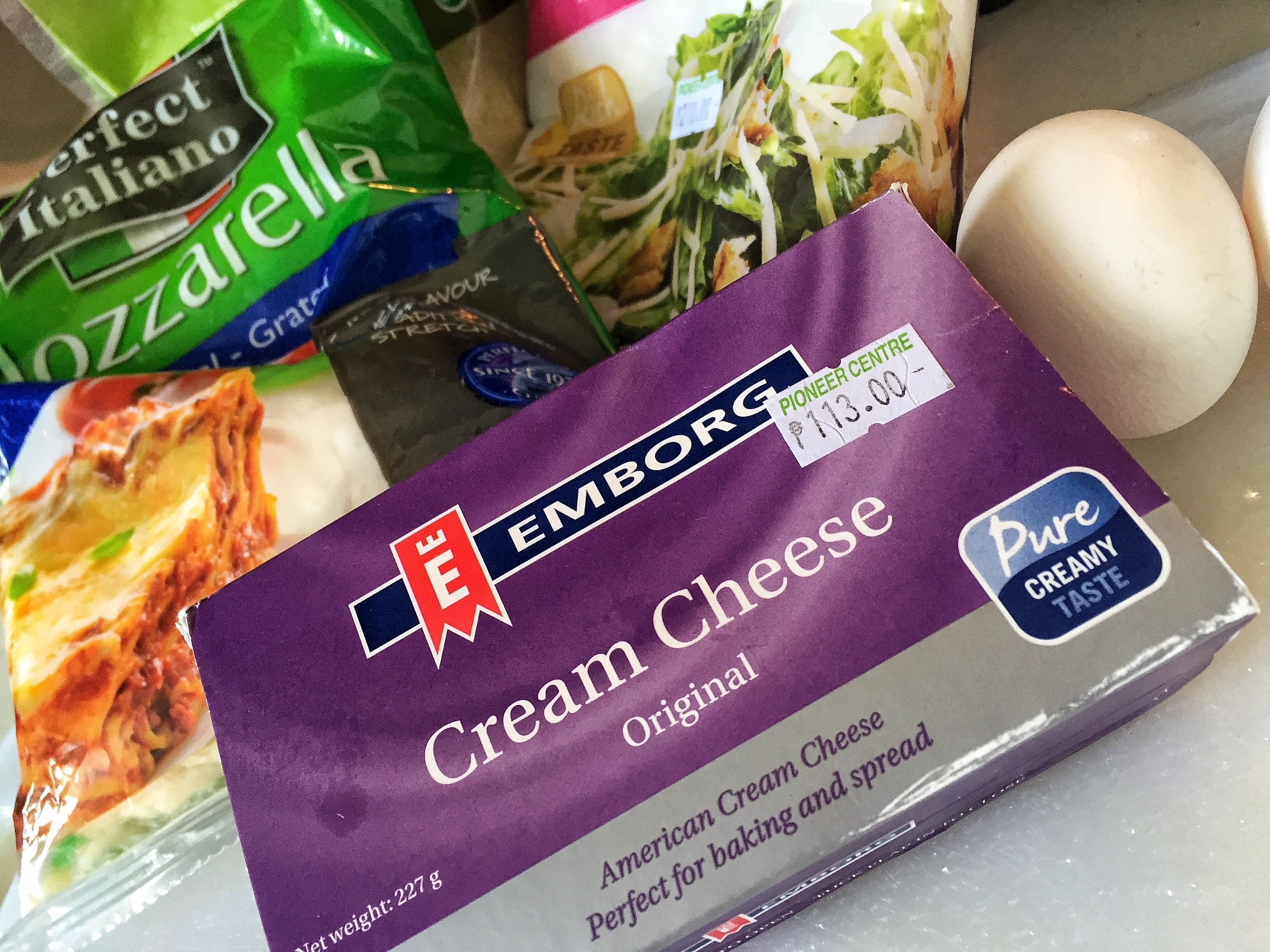 Keto Pizza Cream Cheese