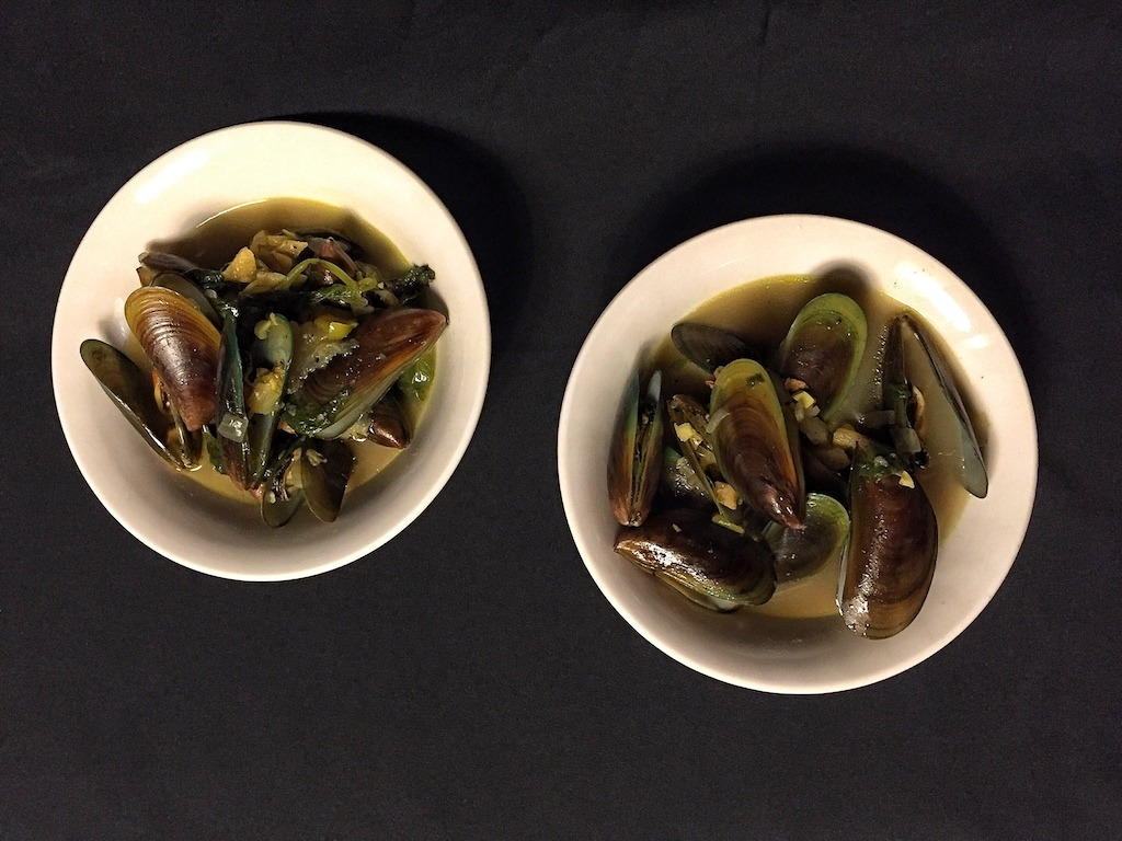 Mussels Soup Dinner