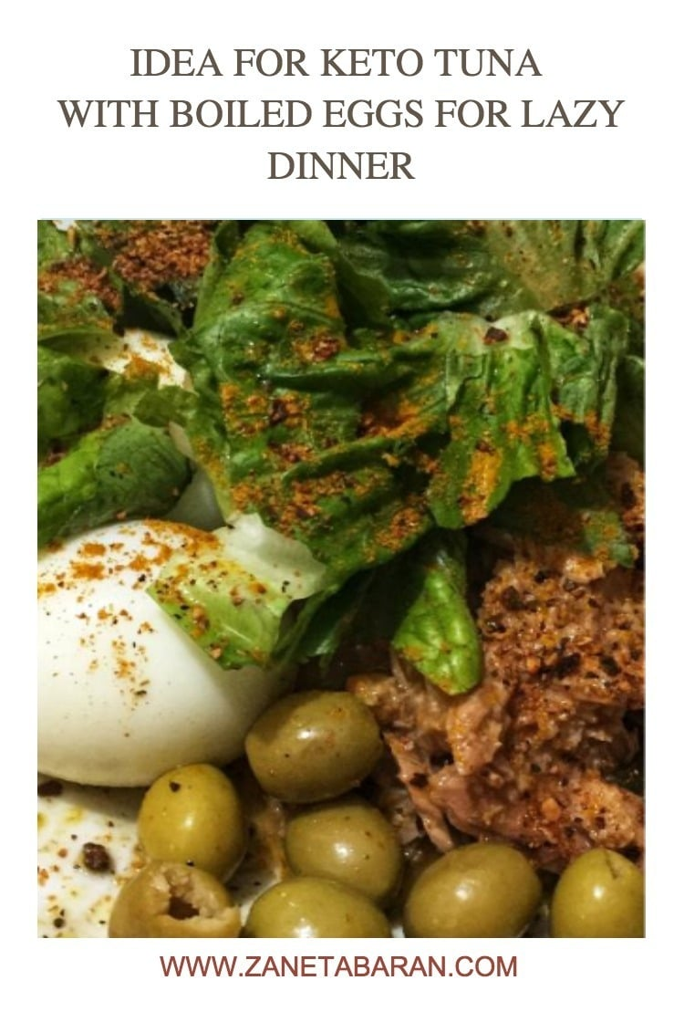 Pinterest 1 Idea For Keto Tuna With Boiled Eggs For Lazy Dinner
