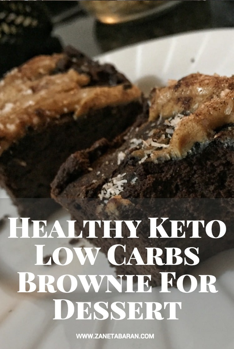 Pinterest Healthy Keto Low Carbs Brownie For Dessert