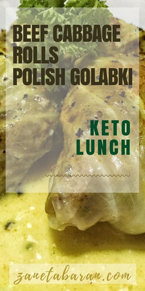 Polski Golabki Lunch