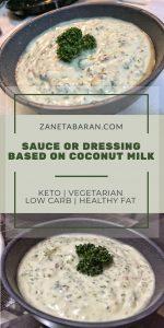 Coconut Dressing Sauce
