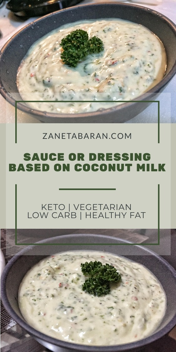Coconut Dressing Sauce
