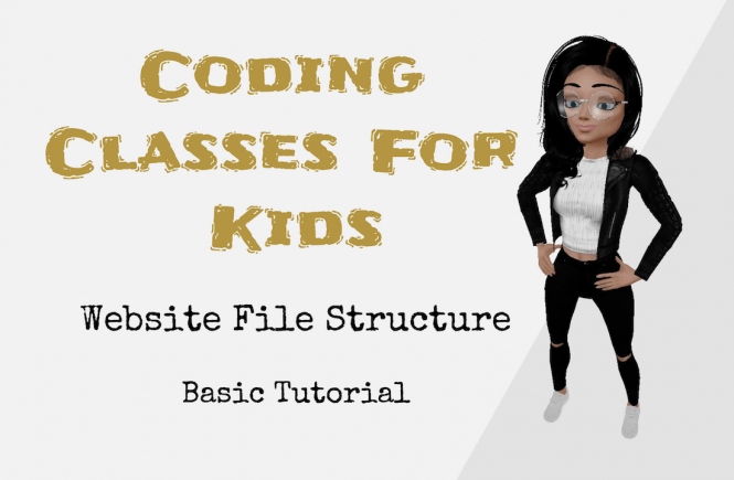 Coding Classes Website File Structure
