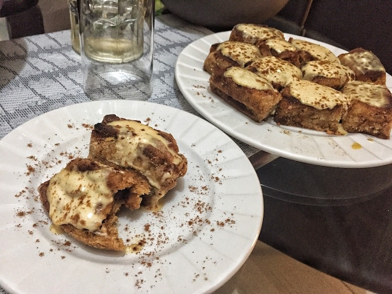 Healthy Keto Low Carbs No Sugar Cinnamon Rolls For Dessert