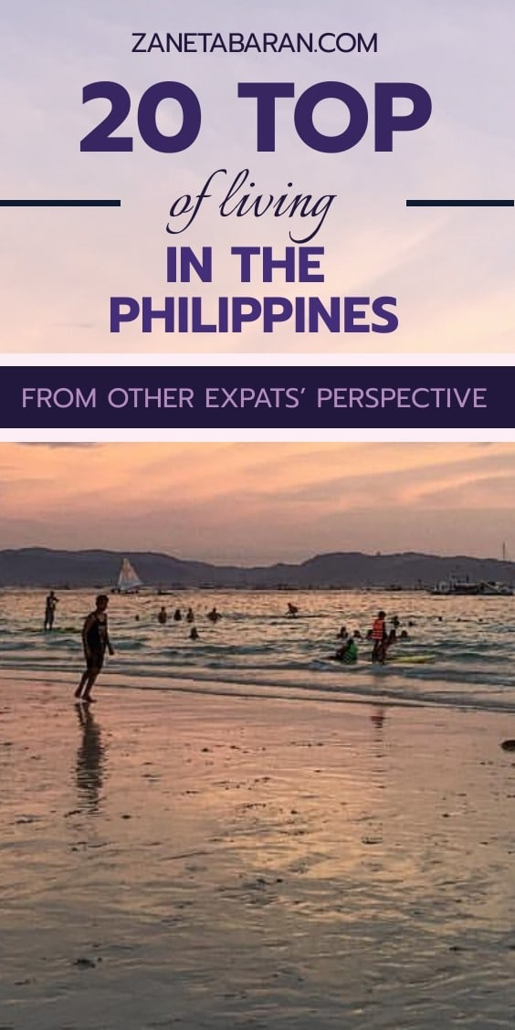 Pin 20 Top Expats Philippines