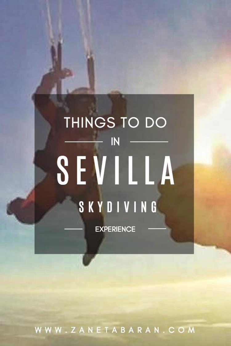 Pinterest Things To Do In Sevilla – Skydiving Experience