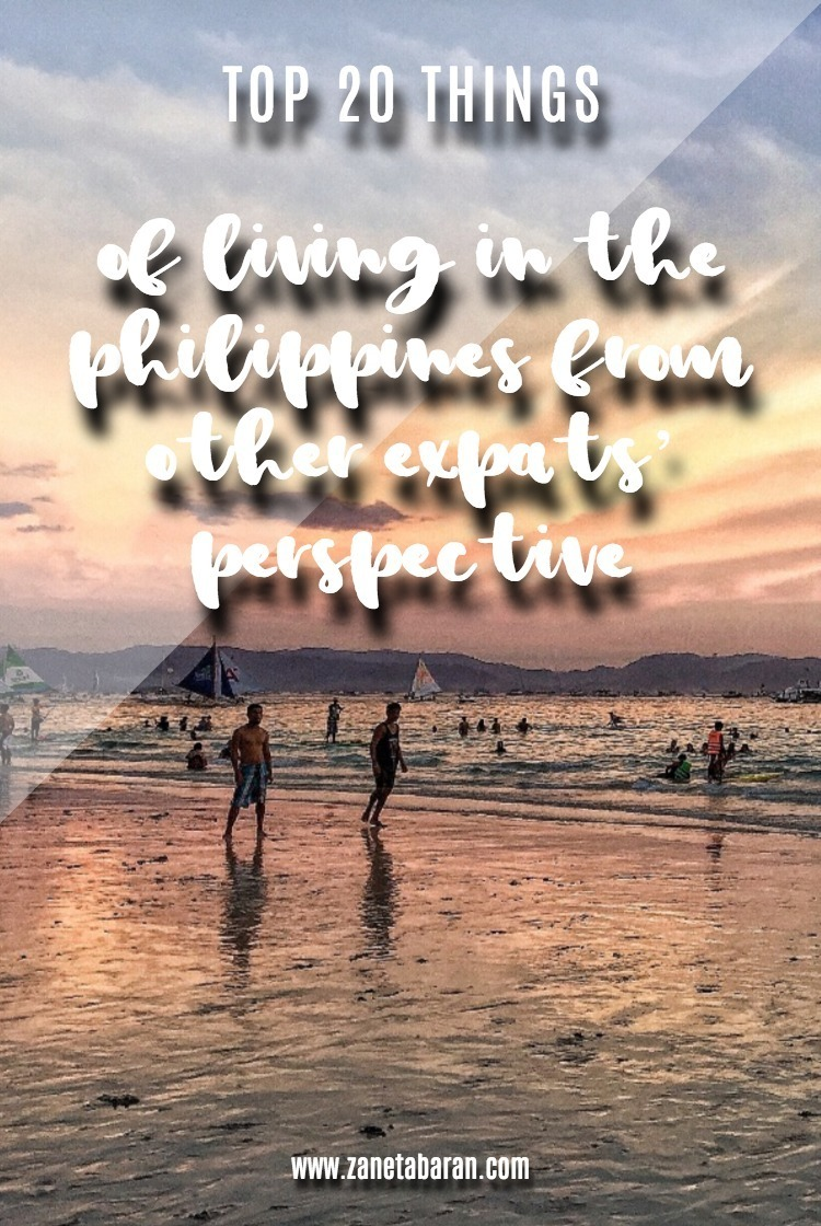 Pinterest TOP 20 Things Of Living In The Philippines From Other Expats' Perspective