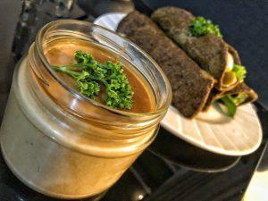 Asian Healthy Homemade Peanut Sauce Spring Rolls
