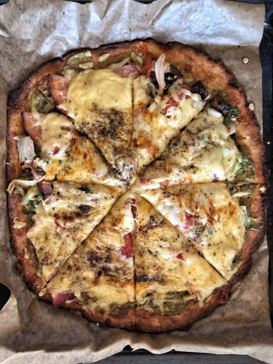 Cheese Bottom Pizza Party