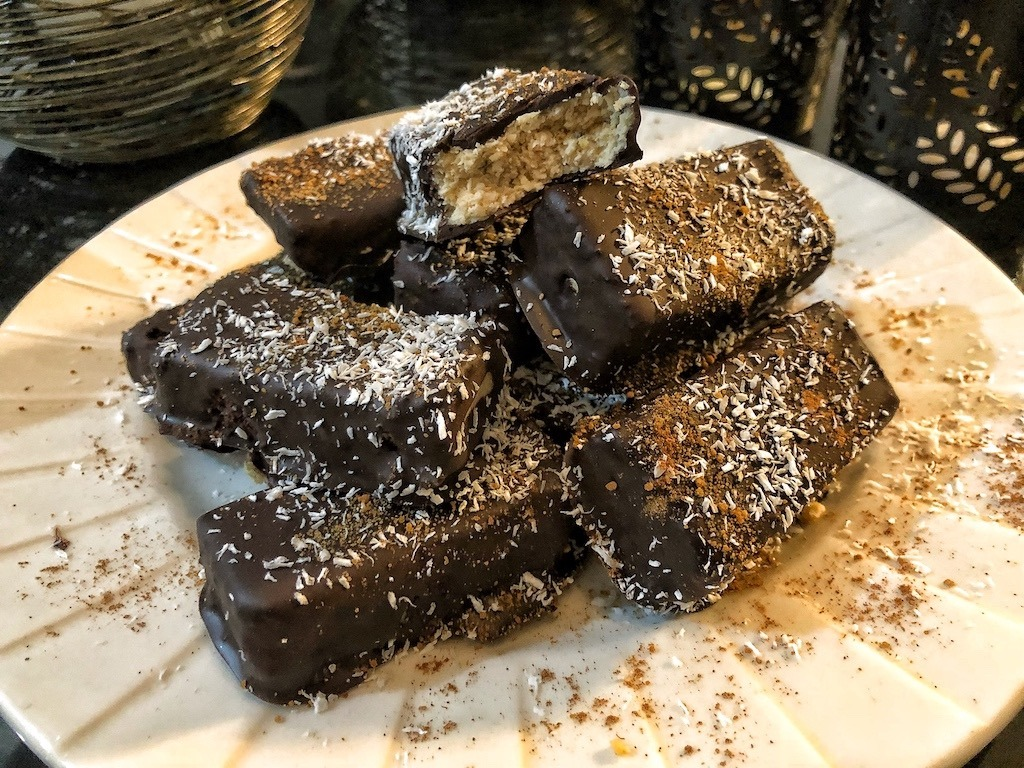 Chocolate Coconut Bars Party Food
