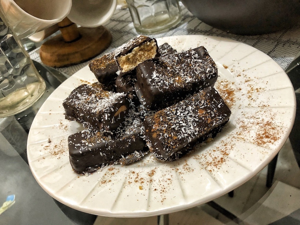 Chocolate Coconut Bars Try It