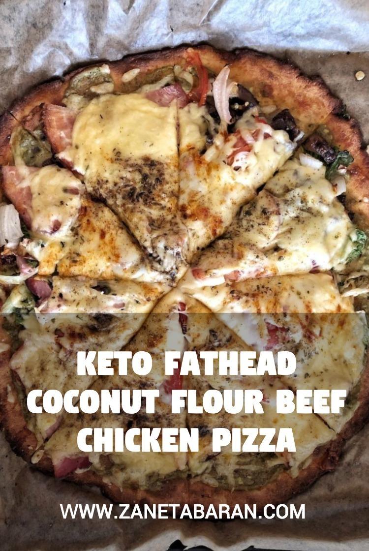 Coconut Flout Keto Pizza Pinterest