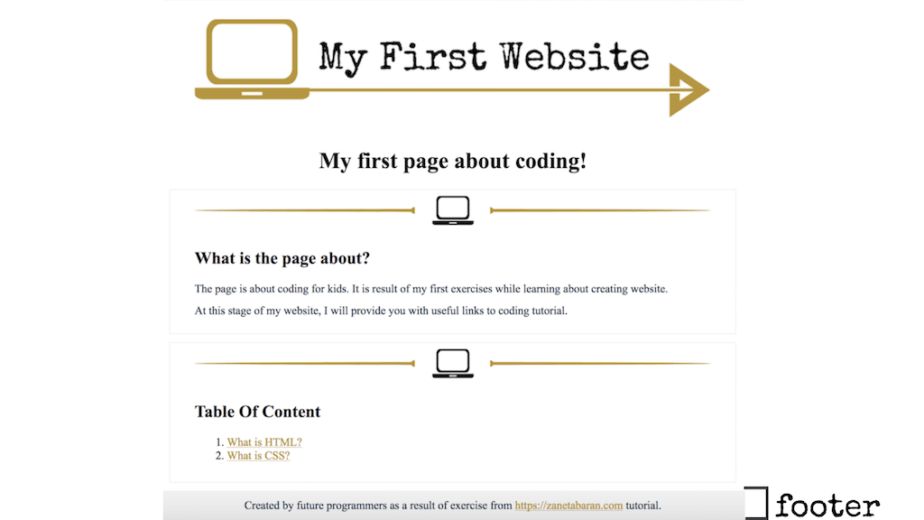 Coding Clasess For Kids Footer Container