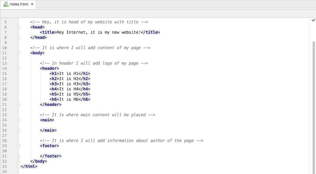 Coding Classes Heading Code