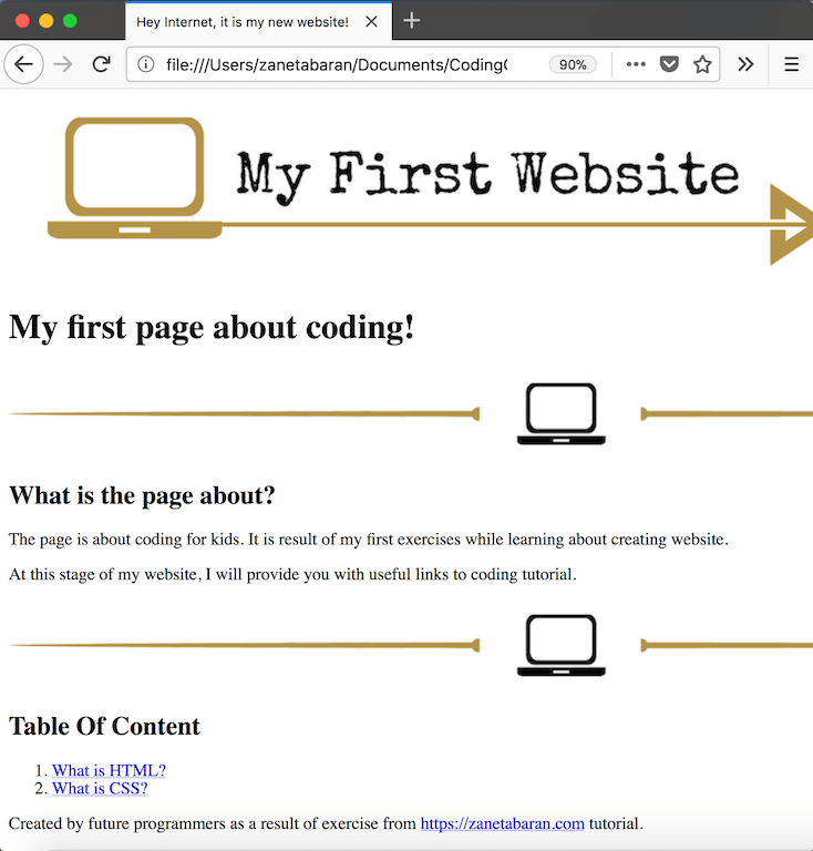 Coding Classes Unstyled Tablet HTML Tags