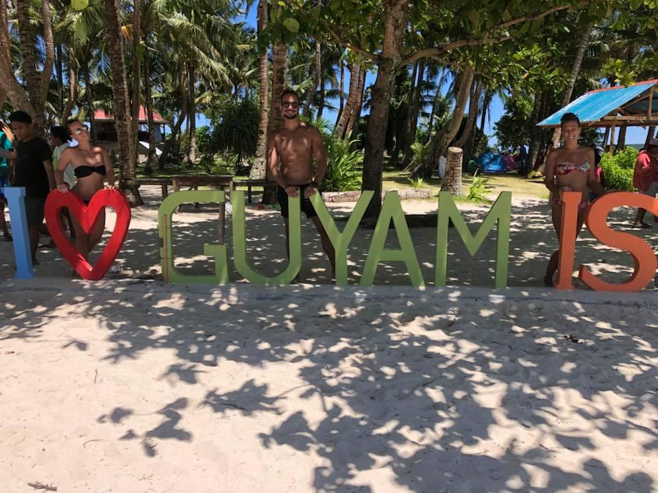 Guyam Island Sign