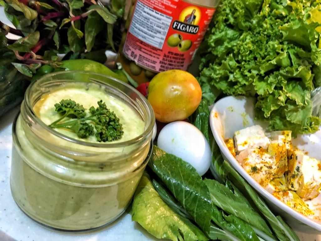 Healthy Keto Full Of Healthy Fat Creamy Avocado Dip Or Spread Vegetables