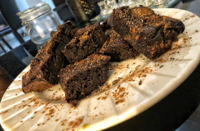 Healthy Paleo Keto No Diary Low Carbs No Sugar Avocado Chocolate Brownie Party Time