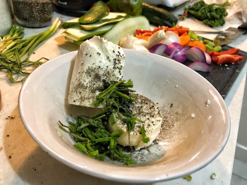 Homemade Healthy Keto Ricotta Cheese Spread