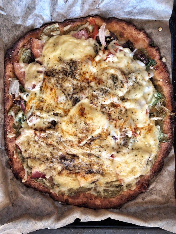 Keto Cheese Pizza Quick