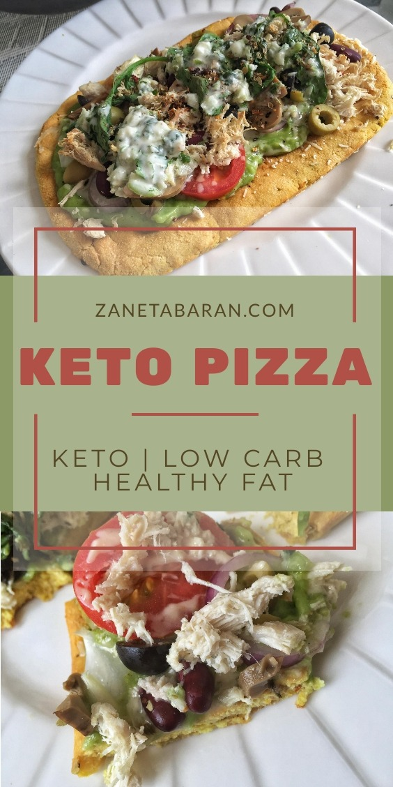 Keto Pizza Chicken Beef