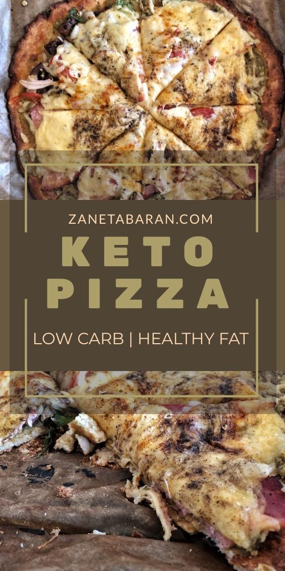 Keto Pizza Coconut Flour Pin