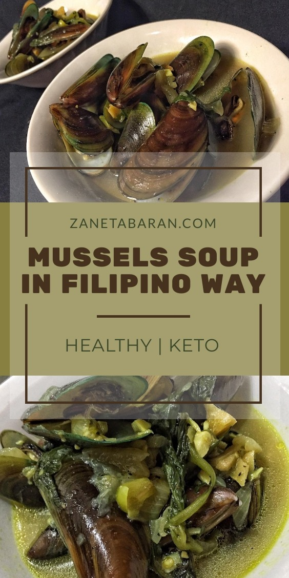 Mussels Soup Filipino Way